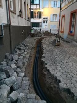 Kabel- und Leerrohrverlegung in Gernsbac