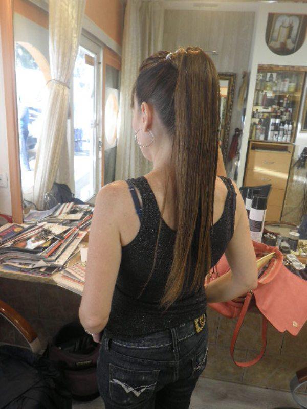 הארכת שיער עם תוספות - רמי מזרחי