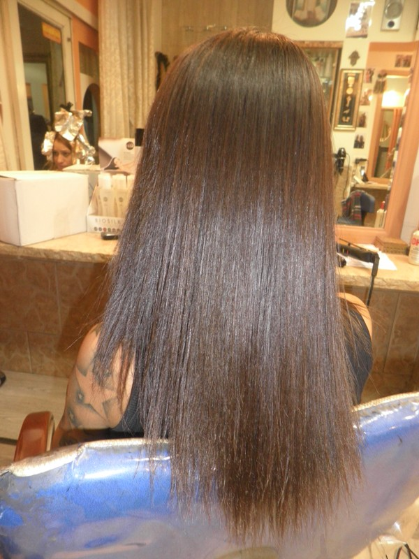 החלקת שיער רמי מזרחי