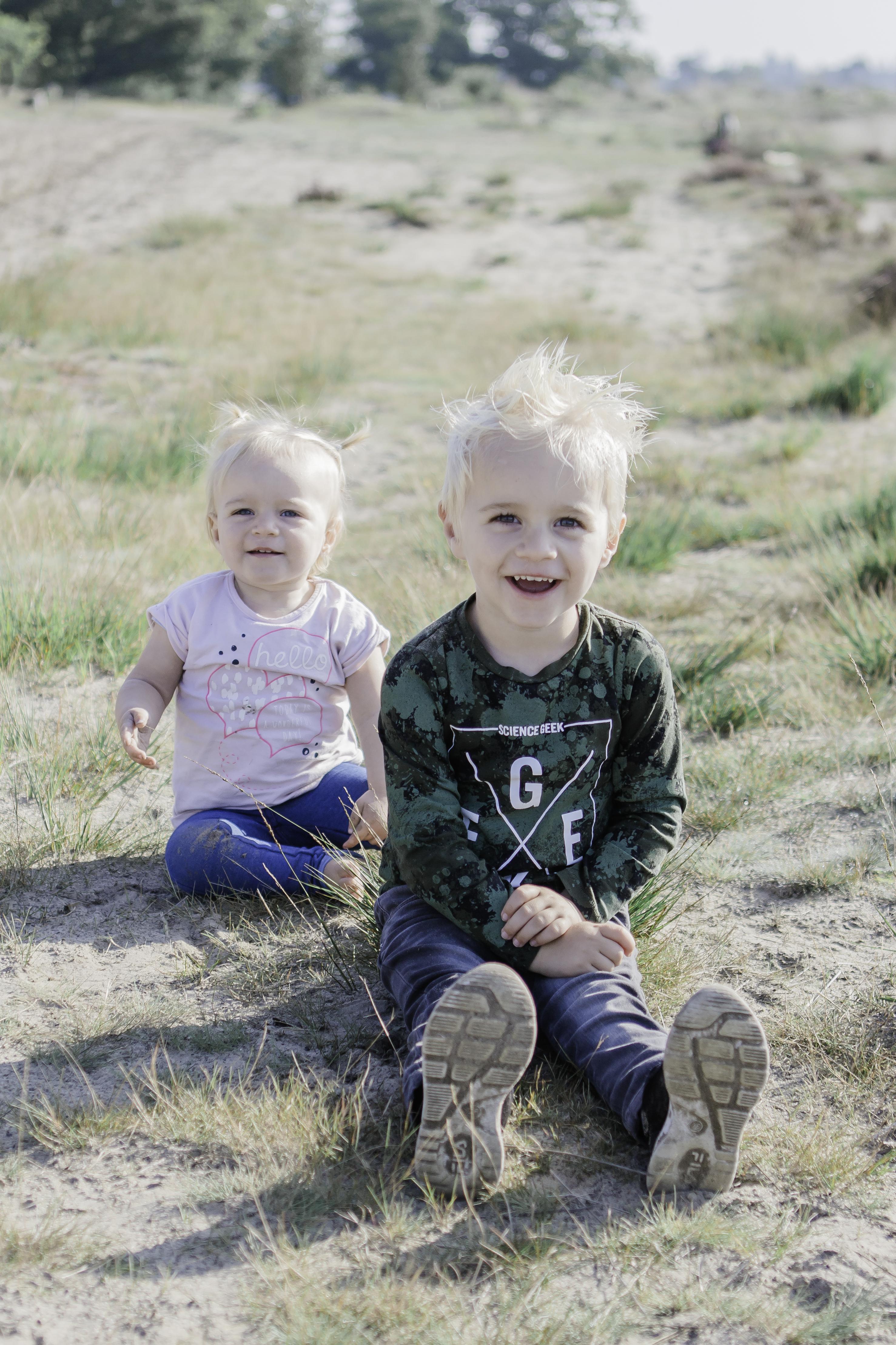 Riley en Skylar