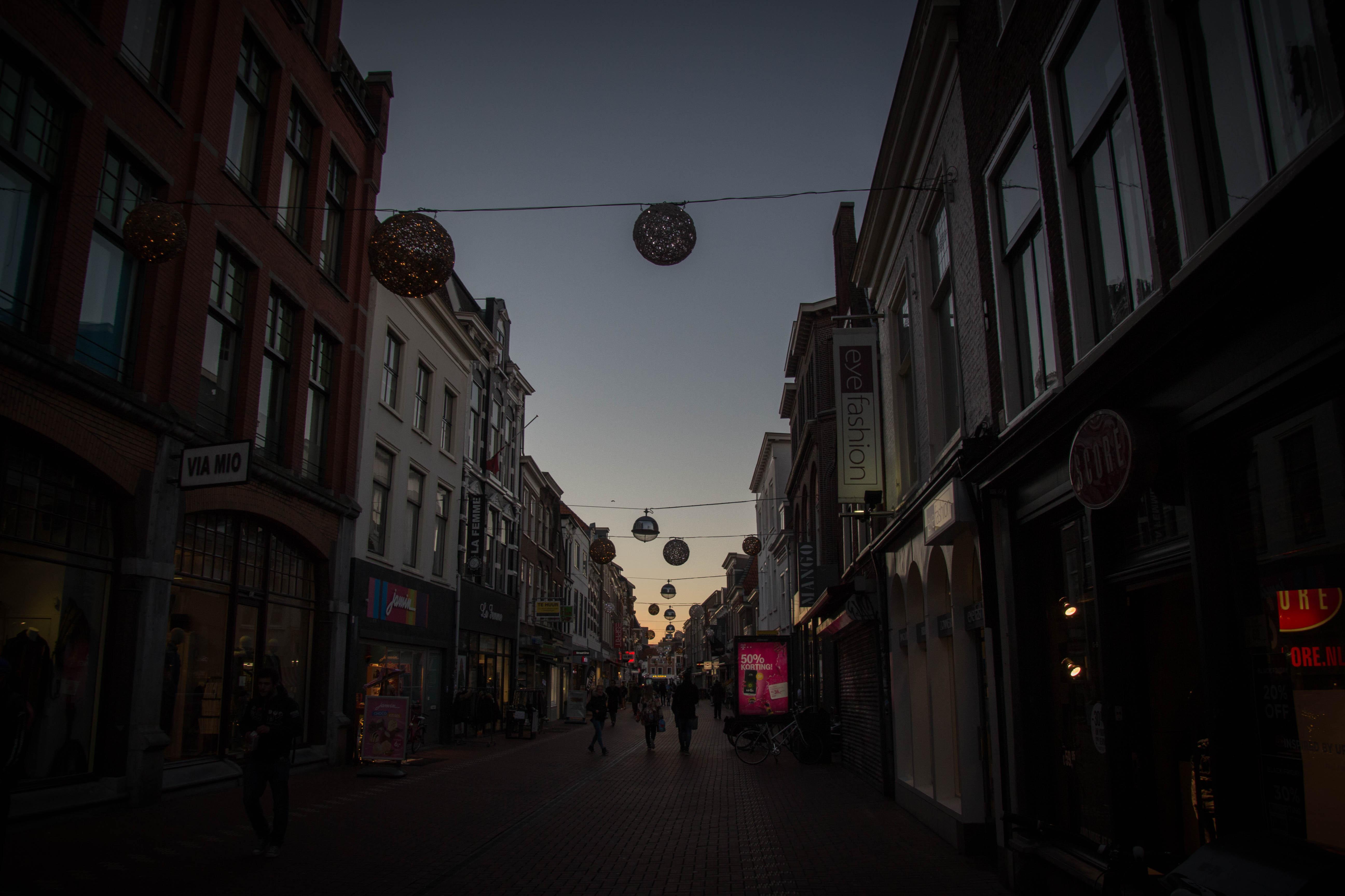 Winkelstraat van Leiden