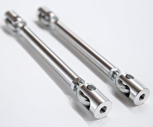"11""-12.75"" Billet Aluminum Adjustable Splitter Support Rod (Pair)"