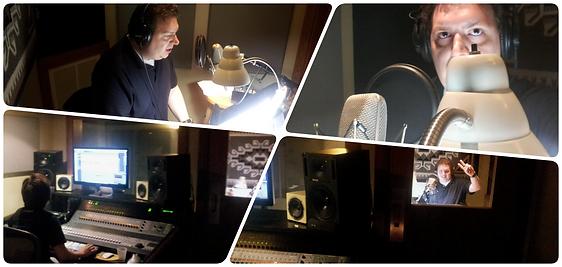 Ryan Pugh Voice Over Recording Studio