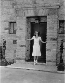 Barbara Stanwyck at Marwyck Ranch The Oakridge Estate Paul R. Williams