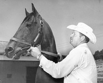 Blue Reading (career winnings $187,000)/Flavio Lomax. c. 1956