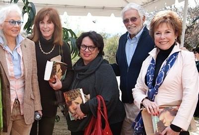 Victoria Wilson, Stephanie Powers, Karen Hudson, David Hedison, Kate Edelman   Booksigning 2014