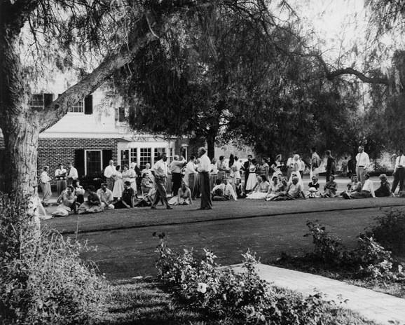 Northridge Farms Sunday BBQ c. 1955