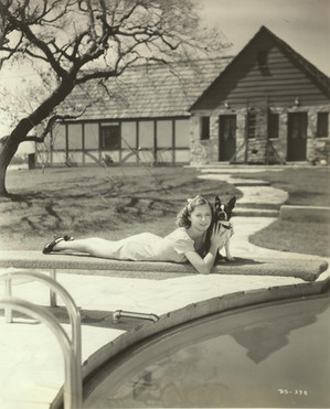 Barbara Stanwyck at Marwyck Ranch Paul R. WIlliams