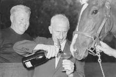 Jack Oakie, Jimmy Durante and Schnoz Durante c. 1955