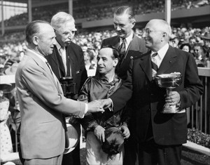 Louis B. Mayer receiving award, undated