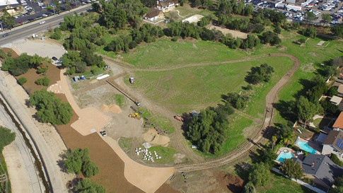 Oakridge Park Construction Jan 2018