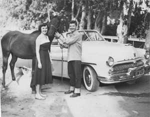 The Roses with Ace Rose at Ryana Ranch c. 1951