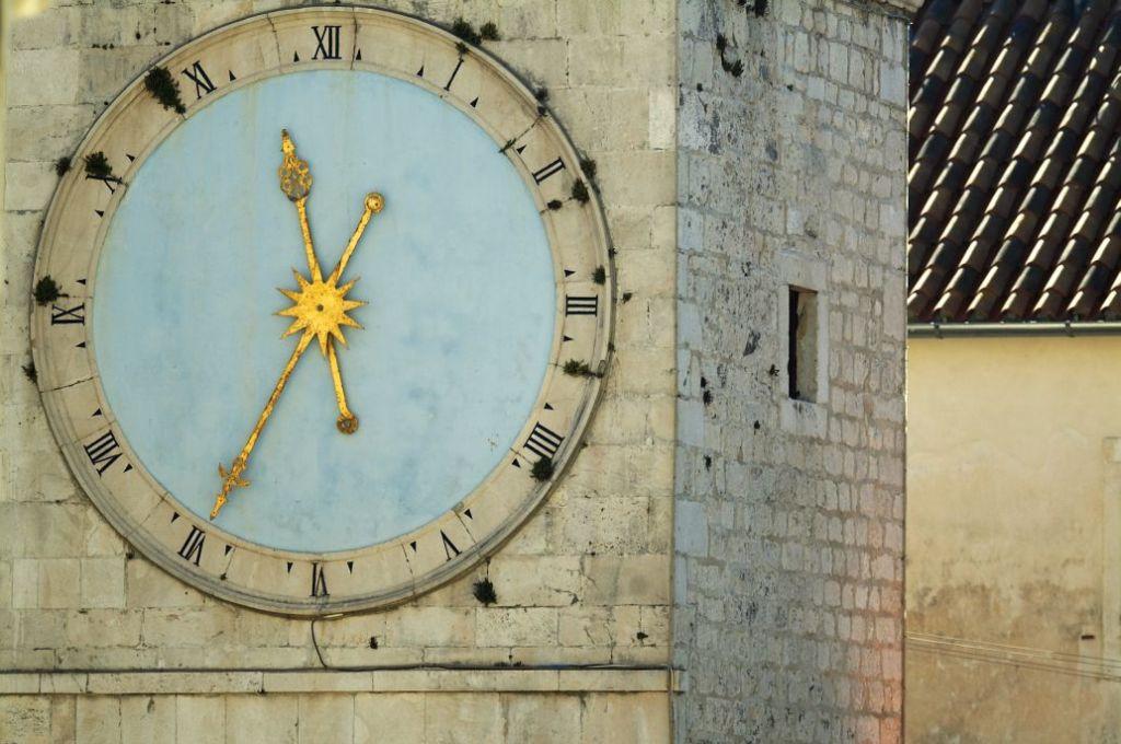 Town clock, Saint Sebastian church