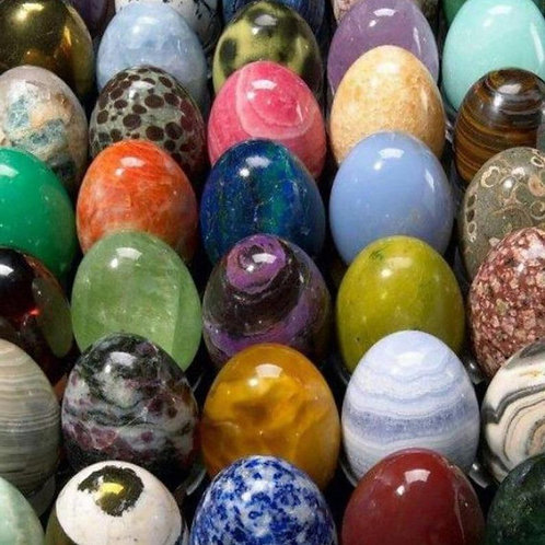Yoni Egg, Assorted Gemstones ( For Kegel Exercises)
