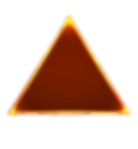 neon-triangle-with-glowing-lines vector.