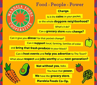 Mandela Foods Cooperative Advertorial Written by Erin Clark