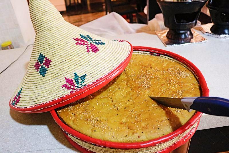 Syndē Dabo (Ethiopian Kamut bread)