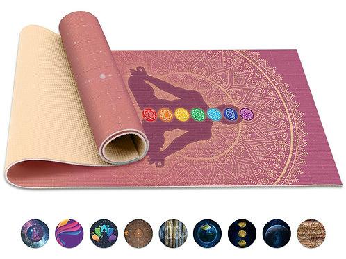 Yoga / Pilates Mat w/ Strap & Carrying Bag