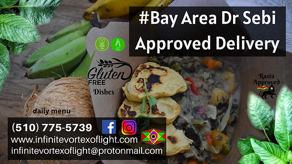 #BayAreaDrSebiApproved Delivery Promo.pn