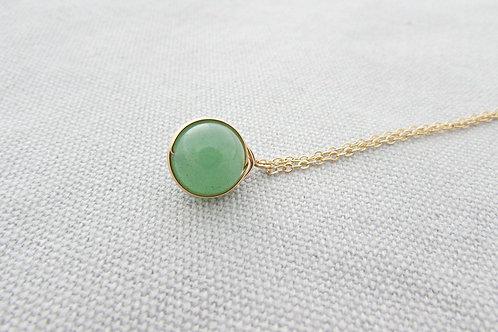 """18"""" Jade Necklace Pendant"""