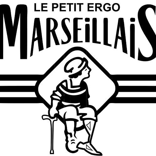 """Sticker """"Le Petit Ergo Marseillais"""""""
