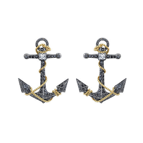 "The ""Anchor Me"" Earrings"
