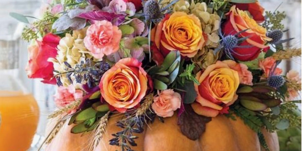 Fall Floral Design Workshop -  Saturday Evening