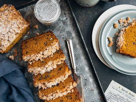The Best (low sugar) Pumpkin Bread