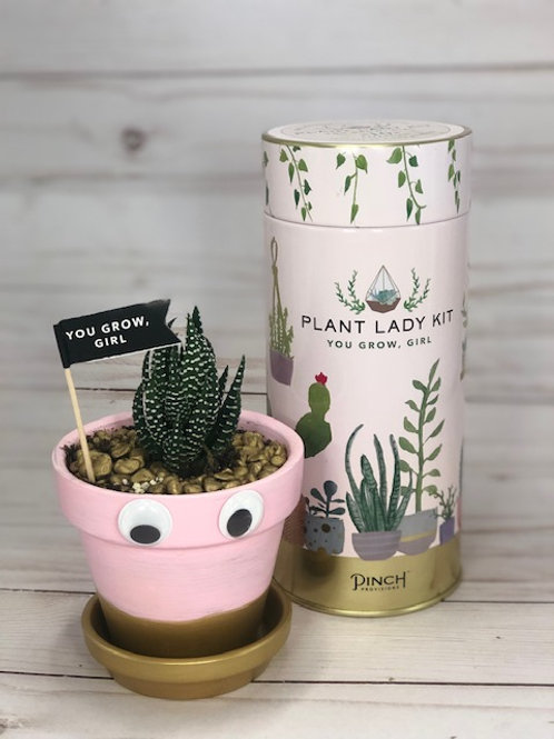 Succulent and Plant Lady Kit