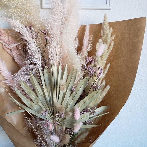First Blush Everlasting Dried Florals