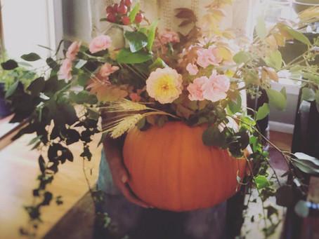 Pumpkin Floral Arrangements