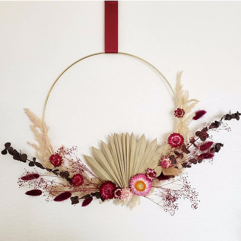 Flower Wreath Making Workshop
