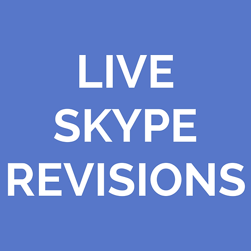Additional Live Zoom Revisions