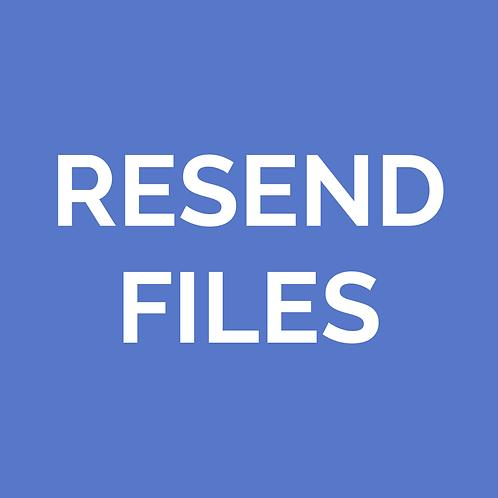Resend Files
