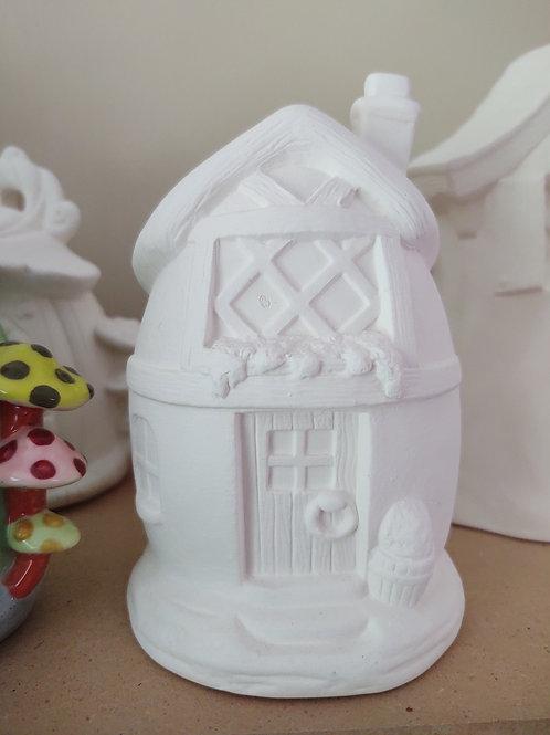 Egg Fairy House