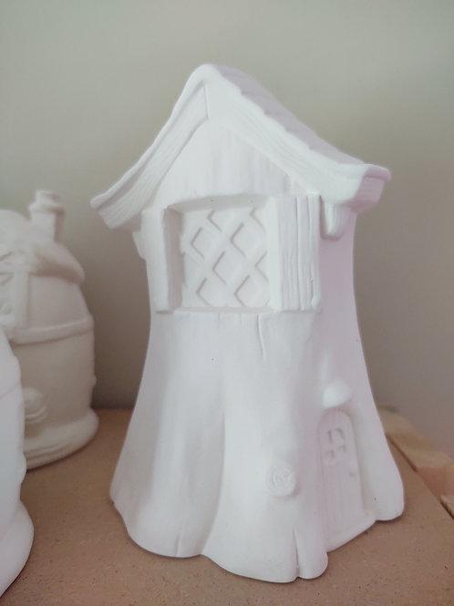 Stump Fairy House