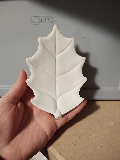 Holly Leaf Tray