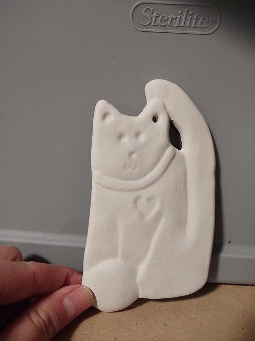 Cat Ornament - Flat