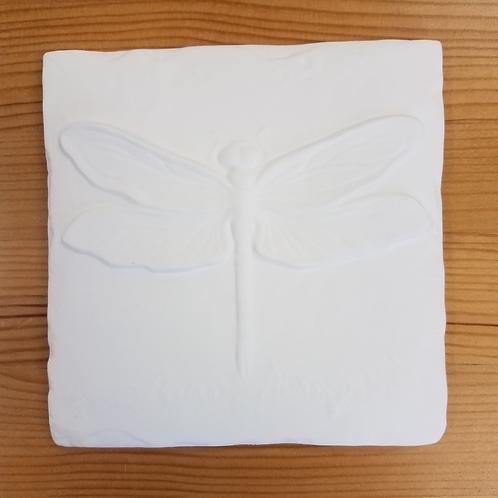 Garden Critter Tile - Dragonfly