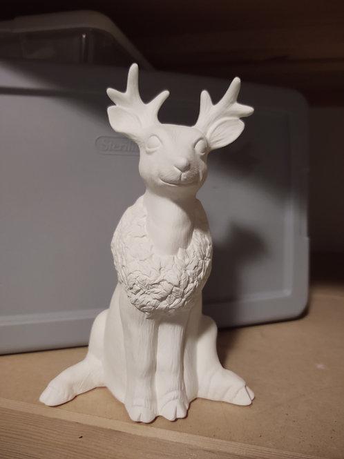 Reindeer w/ Wreath