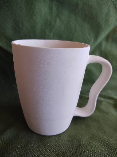 Wavy Handled Mug