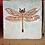 Thumbnail: Garden Critter Tile - Dragonfly w/ holes