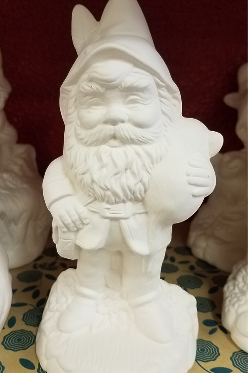 Small Garden Gnome - Standing w/ Mouse