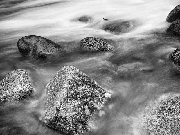 Swiftwater at the Little Susitna River.  Mamiya RB67 Pro SD, 90mm Sekor-C, Fuji Acros.