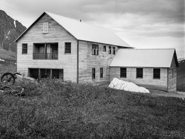 Mess Hall, Independence Mine Complex.  Mamiya RB67 Pro SD, 90mm Sekor, Fuji Acros.