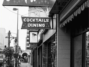 Located in the heart of downtown Anchorage, Club Paris has been serving steaks and seafood to Alaskans and visitors alike since the late 1950's.  Mamiya M645 1000S, 80mm Sekor, HP5+.