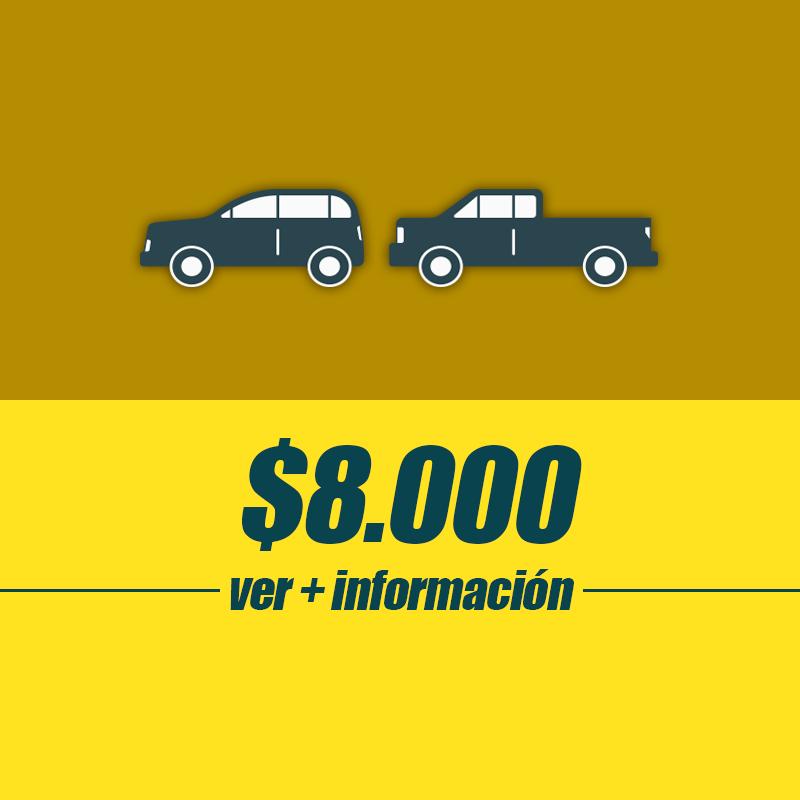 Simple C - SUV 2c/Camioneta 2c