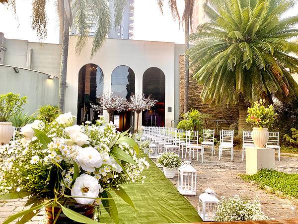 Cerimonia Casamento Para 50 pessoas Bolo e Champanhe