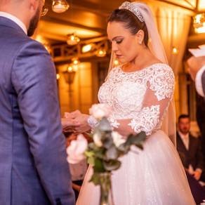 Depoimento da Festa de Casamento Realizada no Buffet Colonial - Carol e André 19/01/2020