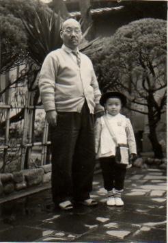 Sr Takashi com 5 anos